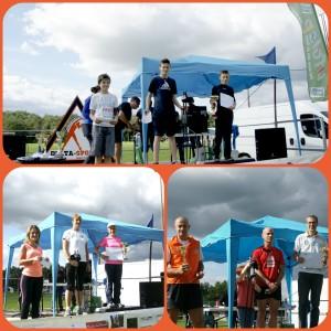 Podium biathlon