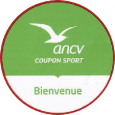 Notre association est affiliée à l' A.N.C.V. et accepte les coupons sports.
