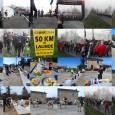 Dimanche 2 mars, une dizaine de personnes de l'association étaient présentes pour parcourir les 24,150 km, félicitations à eux.