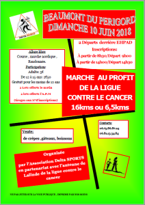 Capture marche cancer