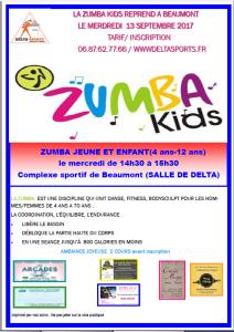 affiche zumba E 2017-2018