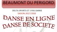Cours de danse de société et en ligne tous les lundis de 19h00 à 21h00 à la salle polyvalente de l'école primaire de Beaumont dés le 11 septembre ! Animé...