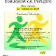 L'association DELTA se mobilise cette année encore pour le Téléthon le Vendredi 7 Décembre 2018 sur la place centrale de Beaumont du Périgord. Au programme: Vendredi 07: marche nocturne de...